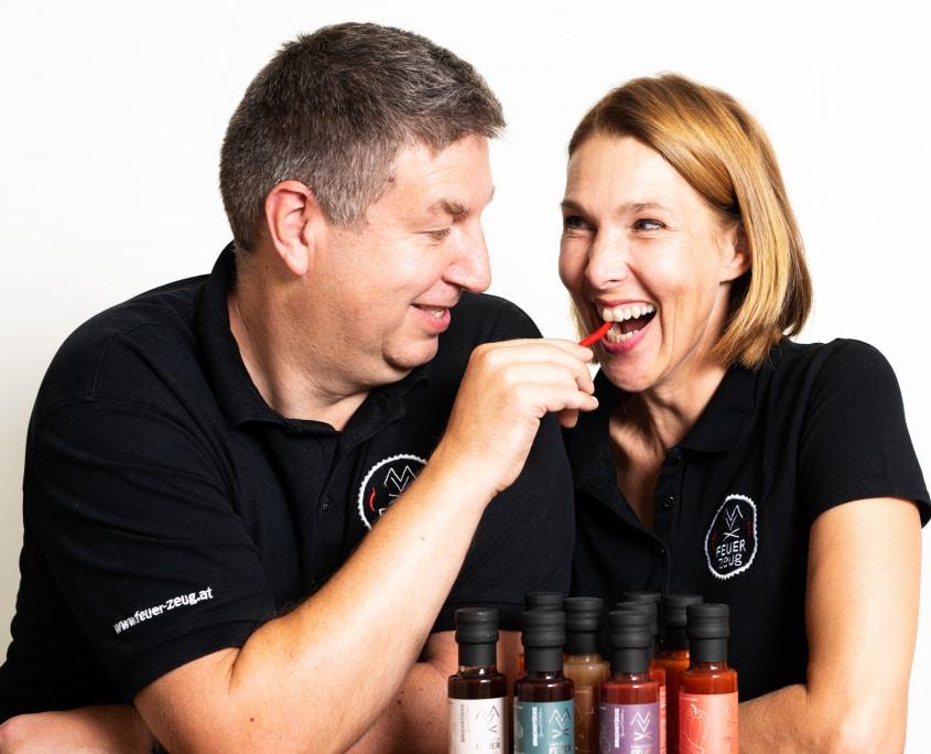 Portrait Ulrike und Christian Dlapka - Chili essen